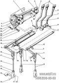 Подгруппа 4607. Управление гидрораспределителем (для тракторов с силовым регулятором и без силового регулятора)