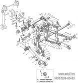 Подгруппа 4605. Механизм передней навески