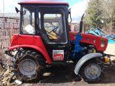 Трактор МТЗ-320.4 со снегоочистительным оборудованием