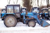 ДЗ-133 Коммунальная машина на базе трактора МТЗ-82.1
