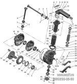 Подгруппа 2308. Редуктор конечной передачи ПВМ (для ПВМ-72-2300020-А-04 (